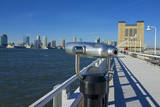 USA, New York City, Hudson River Looking Toward New Jersey Photographic Print by Michele Molinari
