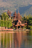 Myanmar. Inle Lake, Shan State Photographic Print by Charles Cecil