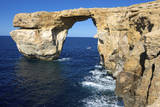 The Zerka or Azure Window at Dwejra Park on Gozo, Malta Photographic Print by Richard Wright