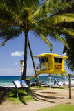 Life Guard Station, Dt Fleming Beach Park, Kapalua, Maui, Hawaii, USA Photographic Print by Roddy Scheer