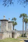 USA, Florida, St. Augustine, the Town Wall and Gate Photographic Print by Jim Engelbrecht
