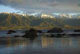 Seaward Kaikoura Ranges, Kaikoura, South Island, New Zealand Photographic Print by David Wall
