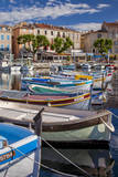 Sailboats in the Harbor of La Ciotat, Cote D'Azur, Provence, France Photographic Print by Brian Jannsen