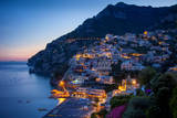 Amalfi Coast of the Hillside Town of Positano, Italy Fotodruck von Brian Jannsen