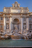 Giuseppe Pannini's Trevi Fountain, Rome, Lazio, Italy Photographic Print by Brian Jannsen