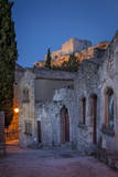 Evening View in Medieval Town of Les Baux De-Provence, France Photographic Print by Brian Jannsen