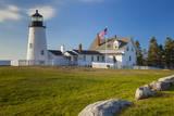 Pemaquid Point Lighthouse Near Bristol, Maine, USA Photographic Print by Brian Jannsen