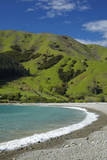 Cable Bay and Pepin Island, Near Nelson, South Island, New Zealand Photographic Print by David Wall