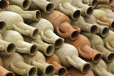 Nabeul, Tunisia. Amphorae Awaiting Export by Ladjili Enterprises Photographic Print by Charles Cecil