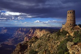 Desert View Watchtower and South Rim Photographic Print by James Randklev