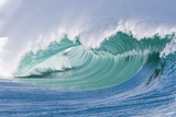 Breaking Wave in Hawaii Reproduction photographique par Ron Dahlquist