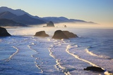 Haystack Rock from Ecola State Park, Oregon Coast Photographic Print by Craig Tuttle