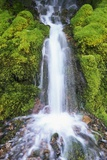 Waterfall over Moss Covered Rocks Photographic Print by Craig Tuttle