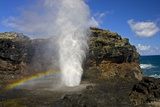 Blowhole at Nakalele Point Photographic Print by Darrell Gulin