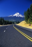 Highway Approaching Mt. Hood Photographic Print by Craig Tuttle