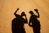 Photographers' Shadows, Morodova, Madagascar Photographic Print by Paul Souders