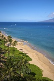 Kaanapali Beach, Maui, Hawaii Reproduction photographique par Ron Dahlquist