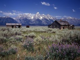 Pioneer Settlement at Jackson Hole Photographic Print by James Randklev