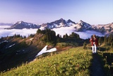 Tatoosh Range from Skyline Trail Photographic Print by Craig Tuttle