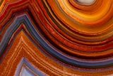 Close Ups of Fortification on Crazy Lace Agate Photographic Print by Darrell Gulin