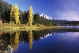 Clear Autumn Day at Trillium Lake Photographic Print by Craig Tuttle