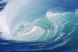 Breaking Wave in Hawaii Photographic Print by Ron Dahlquist