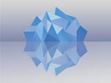 Kaleidoscope Iceberg Prints