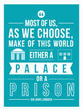 Palace Or A Prison Poster