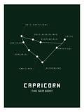 Astrology Chart Capricorn Art