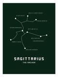 Astrology Chart Sagittarius Posters