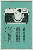 Smile Retro Camera Art