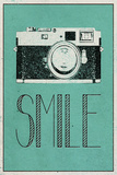 Smile Retro Camera Art