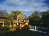 Old Grist Mill Photographic Print by James Randklev