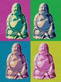Buddha Pop-Art Poster