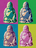Buddha Pop-Art Posters