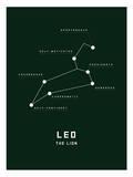 Astrology Chart Leo Prints
