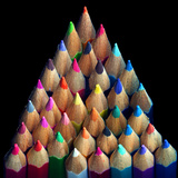Colored Pencils Photographic Print by Magda Indigo