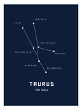 Astrology Chart Taurus Prints