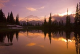 Tipsoo Lake and Mount Rainier Photographic Print by Craig Tuttle