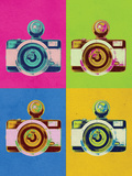 Retro Camera Pop Art Poster Posters