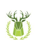 Paper Taxidermy Deer Prints