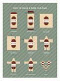 Beer Can Man Posters