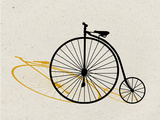 Penny Farthing Pop Art Affiches