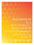 Hashtag City Los Angeles Prints