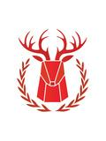 Paper Taxidermy Deer Posters