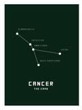 Astrology Chart Cancer Print