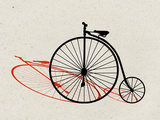 Penny Farthing Pop Art Prints