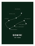Astrology Chart Gemini Prints