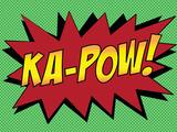 Ka-Pow! Comic Pop-Art Art Print Poster Art