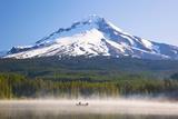 Reflection in Trillium Lake, Mt. Hood, Oregon Cascades. Pacific Northwest Photographic Print by Craig Tuttle